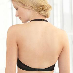Glamorise Convertible Underwire Bra Black Size 38B
